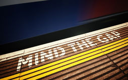 Mind the Gap Royalty Free Stock Images