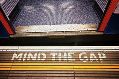 Mind the Gap Royalty Free Stock Photography