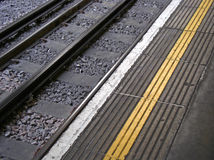 Mind the gap... Royalty Free Stock Image
