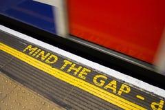 Mind the Gap Royalty Free Stock Image