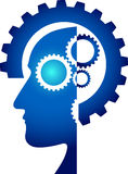 Mind gear Royalty Free Stock Photo