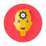 Mind head gear icon Stock Image