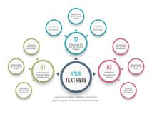 Mind Map Diagram Royalty Free Stock Photography