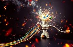 Mind maszyna jest mleć kolorowy Fotografia Stock