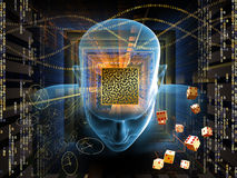 Mind Maze Stock Photography