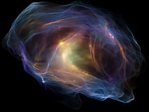 Mind Particle Composition Stock Photography
