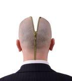 Mind unzipped Royalty Free Stock Photography