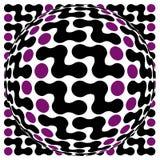 Mind warp convex Royalty Free Stock Image