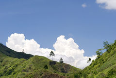 Mindanao Hill Tops, Philippines Stock Photos