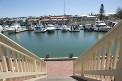 Mindarie Marina Perth Western Australia Royalty Free Stock Images