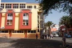 Mindelo Jean Piaget University stock image