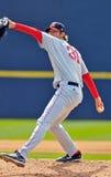 Minder belangrijke het honkbalwaterkruik van de Liga - levering Royalty-vrije Stock Fotografie