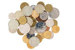 Minder belangrijke muntstukken Royalty-vrije Stock Afbeeldingen