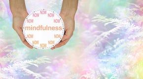 Mindfulness - сделайте его ТЕПЕРЬ Стоковое Изображение