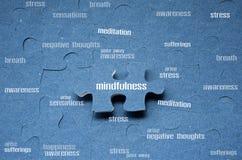mindfulness Lizenzfreie Stockfotografie