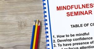 mindfulness Стоковые Изображения