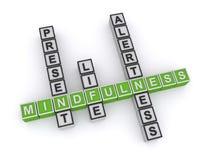 Free Mindfulness Present Life Alertness On White Royalty Free Stock Image - 172808846