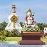 Mindrolling kloster, Dehradun Royaltyfria Bilder