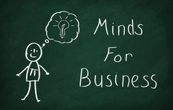 Minds for business Royalty Free Stock Photo