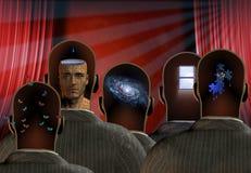 minds teatern Arkivbild