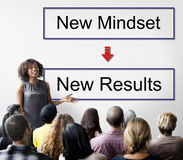 Mindset Opposite Positivity Negativity Thinking Concept Royalty Free Stock Photo