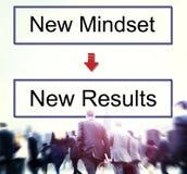 Mindset Opposite Positivity Negativity Thinking Concept Royalty Free Stock Photos