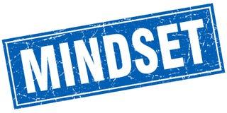 Mindset square stamp Stock Photo