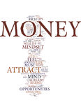 Mindset To Attract Money Text Background  Word Cloud Concept Royalty Free Stock Photo