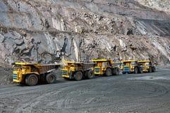 Mine à ciel ouvert Image libre de droits