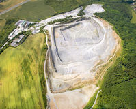 Mine à ciel ouvert Photo libre de droits