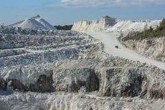Mine à ciel ouvert de Tatlock Image libre de droits
