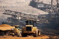 Mine à ciel ouvert, Hambach, Allemagne Photographie stock