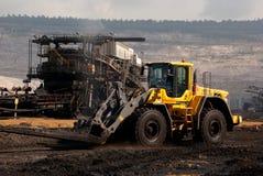 Mine à ciel ouvert, Hambach, Allemagne Photo stock