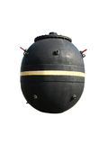 Mine. British naval mine from the second world war royalty free stock photography