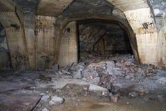 Mine. Richard Hall underground factories in Litomerice Stock Photo