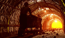 The mine. stock photography