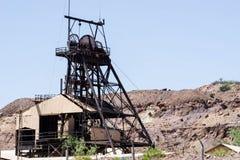 Mine abandonnée image stock