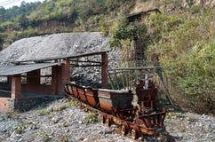 Mine abandonnée Images stock