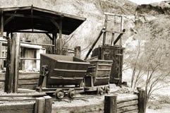 Mine argentée Photos stock
