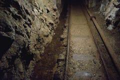 Mine Bartolomej - Rails Stock Photo