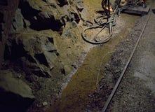 Mine Bartolomej - Rails Royalty Free Stock Image