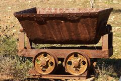 Mine Cart Royalty Free Stock Images