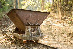Mine cart Royalty Free Stock Image