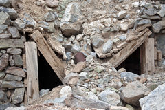 Mine Collapse Stock Photography