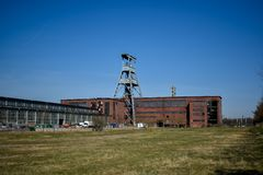 Mine colliery Ewald, Herten, Germany royalty free stock images