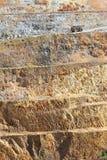 Mine d'or - 4 à ciel ouvert Images libres de droits