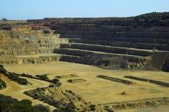 Mine d'Ardrossan Image libre de droits