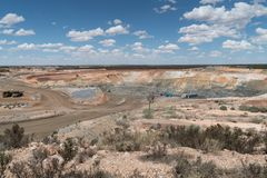 Mine d'or, Australie occidentale Image stock