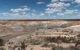 Mine d'or, Australie occidentale Image libre de droits