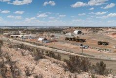 Mine d'or, Australie occidentale Photos libres de droits